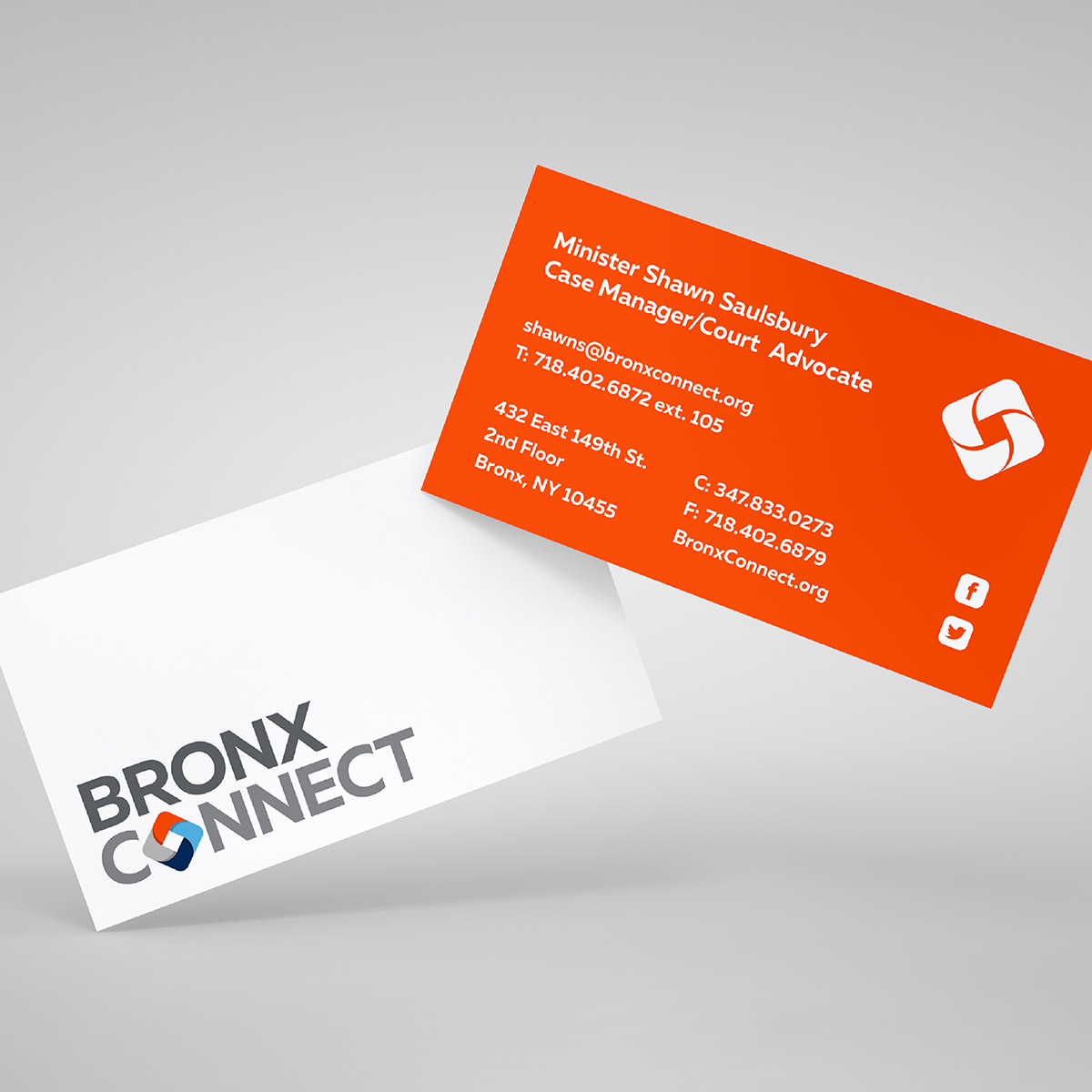 BronxConnect Business Cards