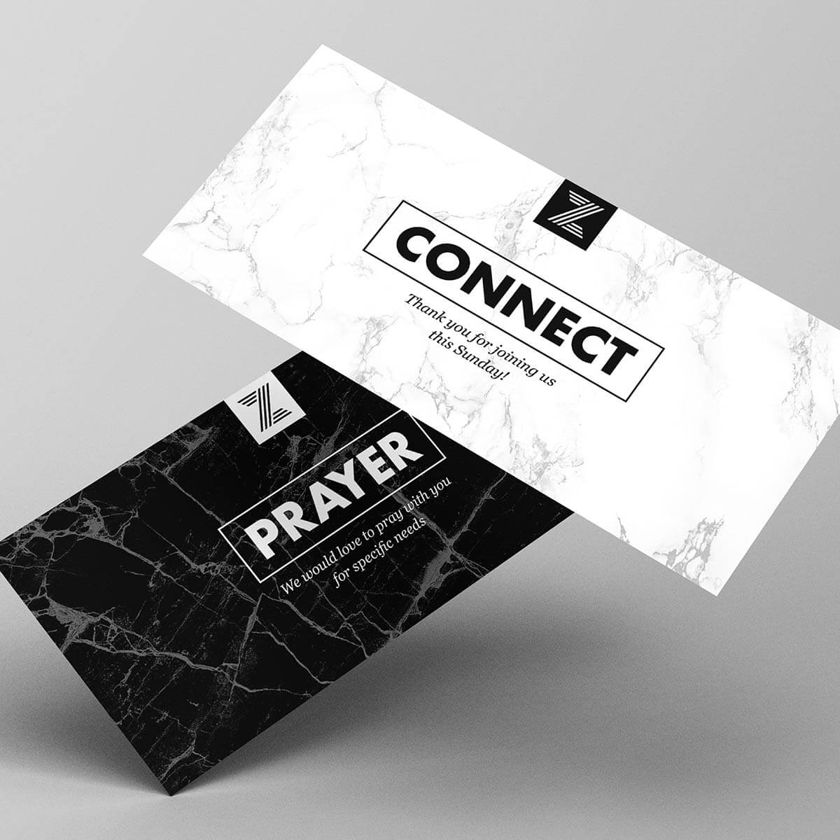 ZION NYC Connect & Prayer Request Cards